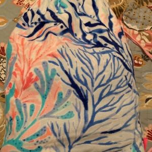Lilly pulitzer towel backpack